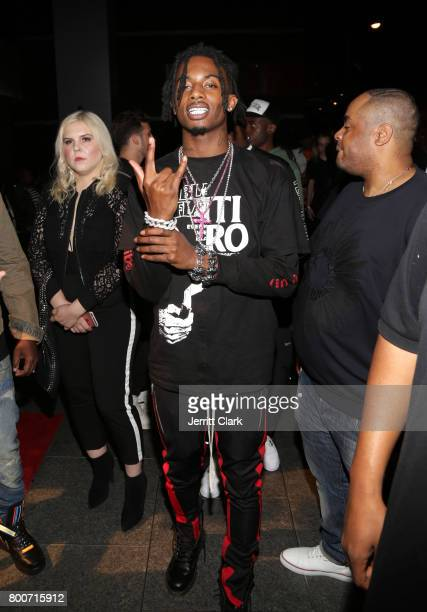 Playboi Carti attends the IGA X BET Awards Party 2017 on June 24 2017 in West Hollywood California
