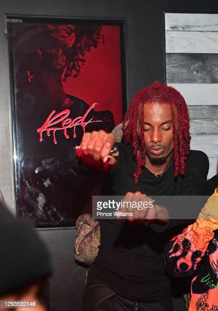 "Playboi Carti attends ""Whole Lotta Red"" Listening Party at Traffik on December 24, 2020 in Atlanta, Georgia."