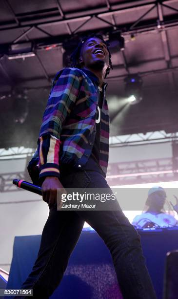 Playboi Carti performs at 2017 Billboard HOT 100 Music Festival at Northwell Health at Jones Beach Theater on August 20, 2017 in Wantagh, New York.