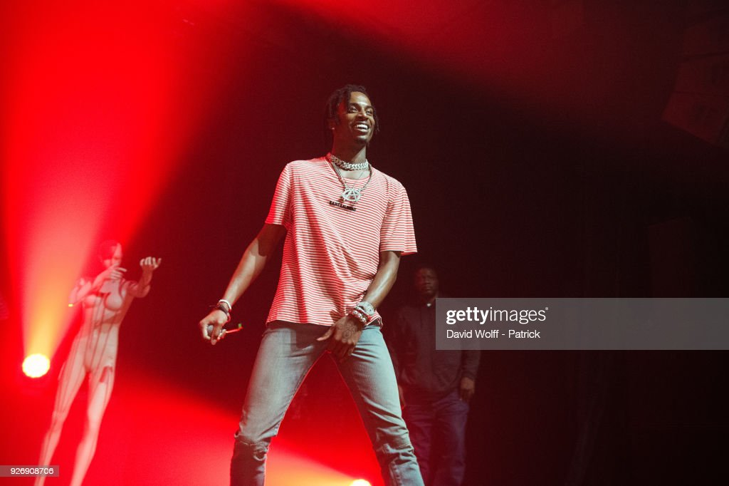 Playboi Carti  Performs At L'Elysee Monmartre In Paris