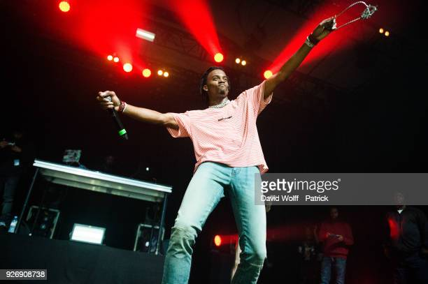 Playboi Carti performs at Elysee Montmartre on March 3, 2018 in Paris, France.