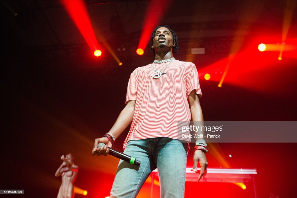 Playboi Carti  Performs At L'Elysee Monmartre In Paris : News Photo