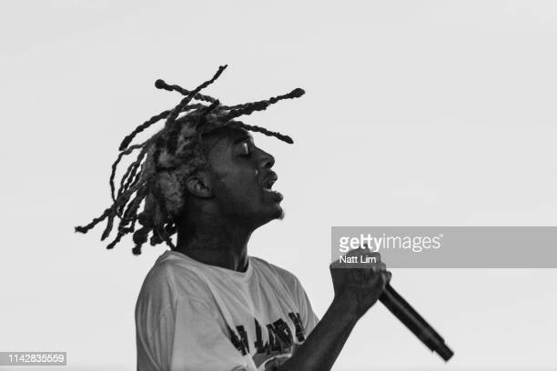Playboi Carti performs at Sahara Tent during the 2019 Coachella Valley Music And Arts Festival on April 14 2019 in Indio California