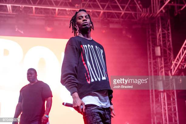 Playboi Carti performs at the Bonnaroo Music Arts Festival on June 8 2018 in Manchester Tennessee