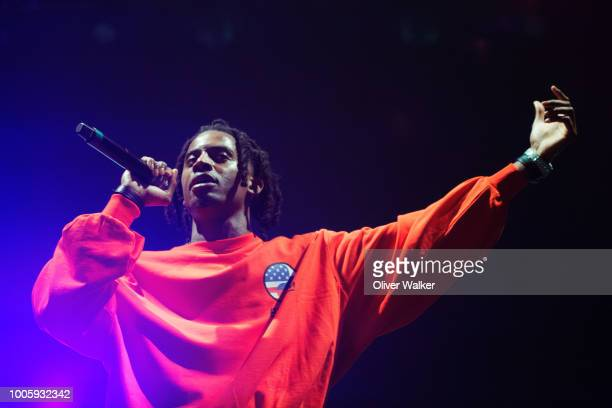 Playboi Carti performs at The Shrine Expo Hall on July 26 2018 in Los Angeles California