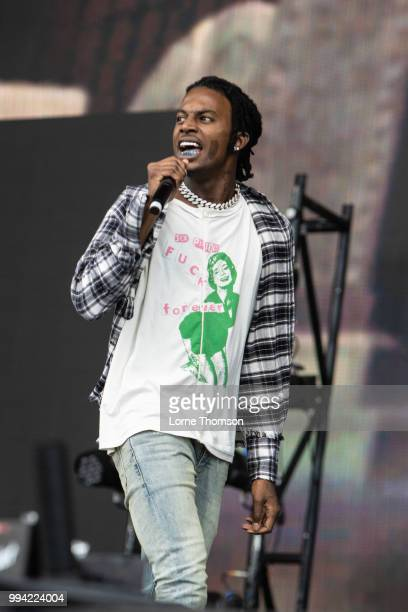Playboi Carti performs during Wireless Festival 2018 at Finsbury Park on July 8th 2018 in London England