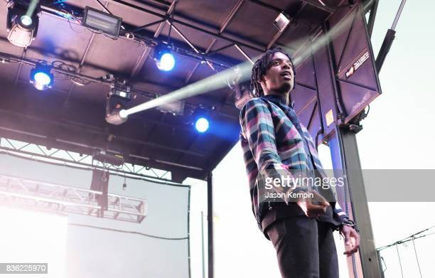 Playboi Carti performs on August 20 2017 in Wantagh City