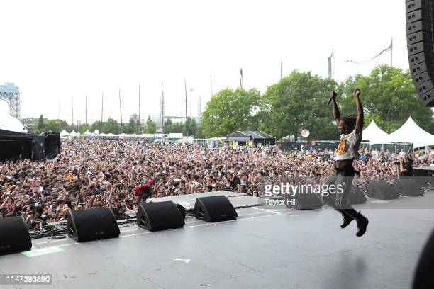 Playboi Carti performs onstage for Day 2 during 2019 Governors Ball Music Festival at Randall's Island on June 1, 2019 in New York City.