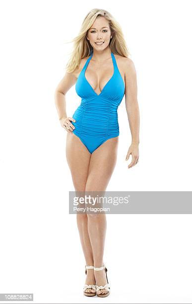 Playboy Bunny reality TV star Kendra Baskett poses at a portrait session for Us Weekly on August 1 2010 in Philadelphia Pennsylvania