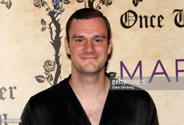 Playboy Chief Creative Officer Cooper Hefner arrives at Playboy's Midsummer Night's Dream at the Marquee Nightclub at The Cosmopolitan of Las Vegas...