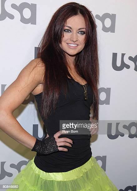 "Playboy Cover Girl and WWE Diva Maria Kanellis arrives at ""Characters Welcome"" USA Network celebrates it's Lineup of Stars on April 3, 2008 at CRAFT..."
