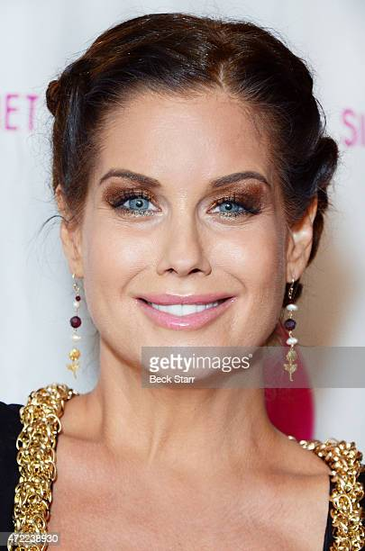 Playboy model Carrie Stevens arrives at Single Mom Planet 2015 Mom Awards Dinner at Maggiano's at The Grove on May 4 2015 in Los Angeles California