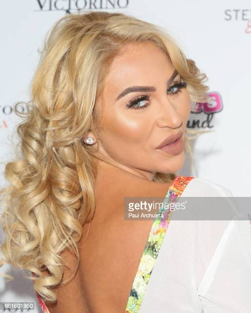Playboy Model Khloe Terae attends the 3rd annual Babes In Toyland pet edition at Boulevard3 on March 30 2017 in Hollywood California