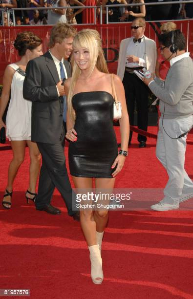 Playboy model Sara Jean Underwood arrives at the 2008 ESPY Awards held at NOKIA Theatre LA LIVE on July 16 2008 in Los Angeles California The 2008...