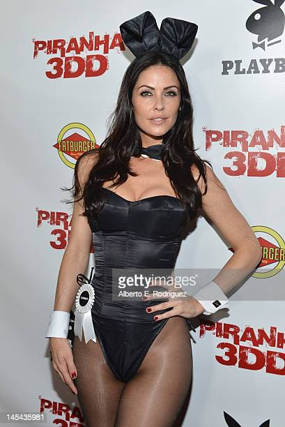Playboy model Summer Altice arrives to the premiere of Dimension Films' Piranha 3DD at Mann Chinese 6 on May 29 2012 in Los Angeles California