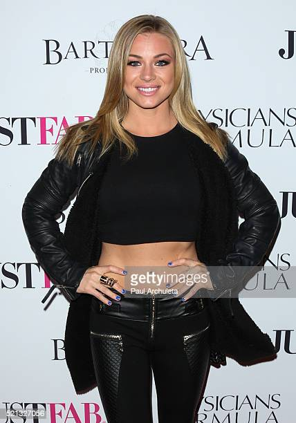 Playboy Playmate / Actress Nikki Leigh attends Star Magazine's 2016 Hollywood Rocks event at Le Jardin on April 14 2016 in Hollywood California