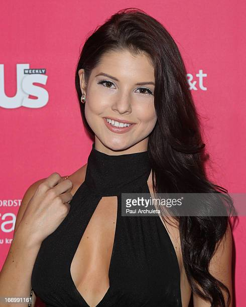 Playboy Playmate Amanda Cerny attends Us Weekly's annual Hot Hollywood Style issue party at The Emerson Theatre on April 18 2013 in Hollywood...