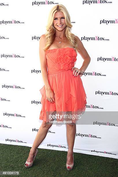 Playboy Playmate Brande Roderick attends the Playboy's 2014 Playmate Of The Year announcement luncheon held at The Playboy Mansion on May 15 2014 in...