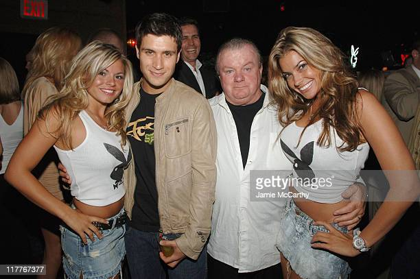 Playboy Playmate Courtney Culkin Michael Lombardi Jack McGee and Playboy Playmate Monica Lee