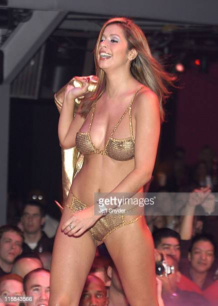 Playboy Playmate during Miss February 2003 Issue Release Party at PLAYBOY Party Fashion Show in Washington DC