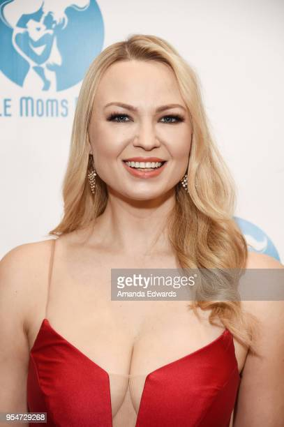 Playboy Playmate Irina Voronina arrives at The Single Mom's Awards presented by Single Moms Planet at The Peninsula Beverly Hills on May 4 2018 in...