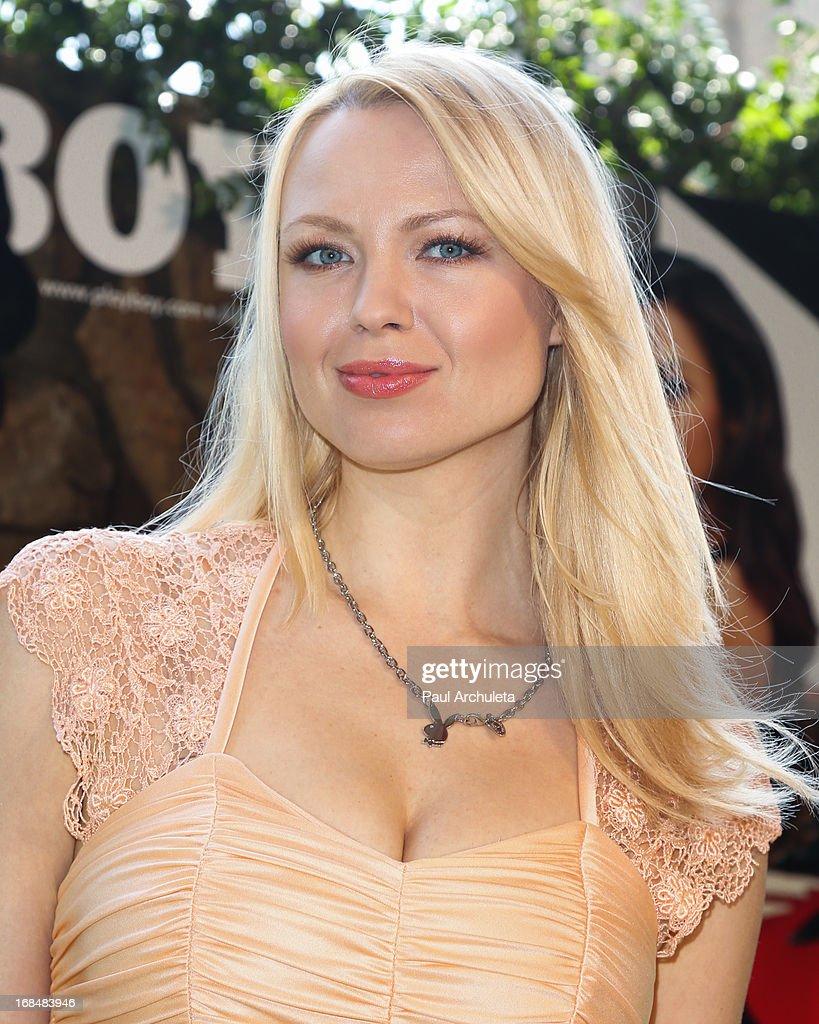 Playboy Playmate Irina Voronina attends the 2013 Playmate