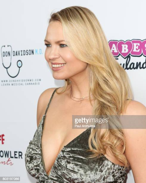 Playboy Playmate Irina Voronina attends the 2nd annual Babes In Toyland Support Our Troops charity event at Avalon on June 28 2017 in Hollywood...