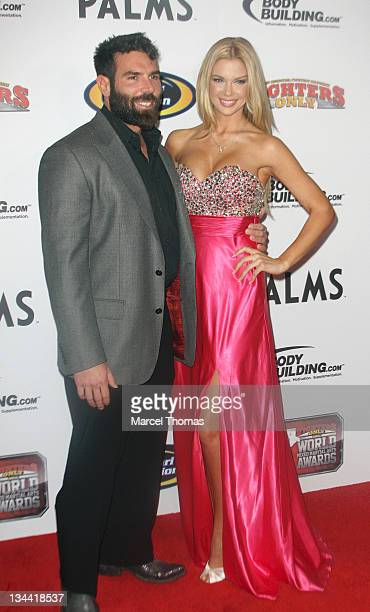 Playboy playmate Jessa Hinton and Dan Bilzerian attend the 2011 Fighters Only Mixed Martial Arts Awards at Palms Hotel and Casino on November 30 2011...