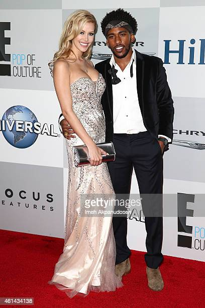 Playboy Playmate Kennedy Summers and actor Brandon Smith attend NBCUniversal's 72nd Annual Golden Globes After Party at The Beverly Hilton Hotel on...