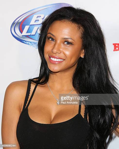 Playboy Playmate Kylie Johnson attends the 7th Annual Babes In Toyland charity toy drive benefiting Promises 2 Kids at Station Hollywood at W...