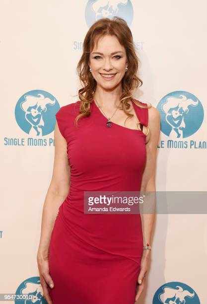 Playboy Playmate Natalia Sokolova arrives at The Single Mom's Awards presented by Single Moms Planet at The Peninsula Beverly Hills on May 4 2018 in...
