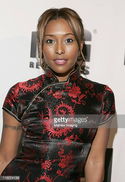 Playboy playmate Nicole Narain during MercedesBenz Fall 2005 LA Fashion Week at Smashbox Studios RU Single After Party at Smashbox Studios in Culver...