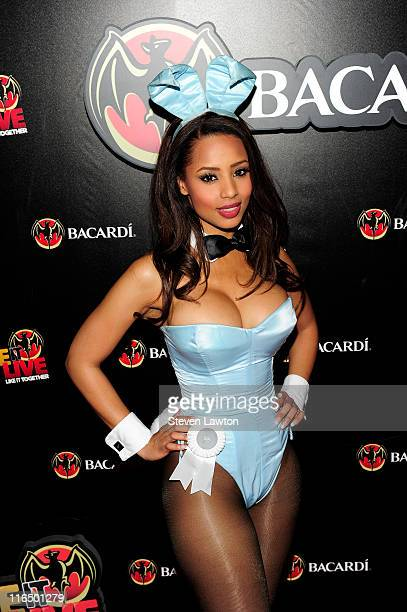 Playboy Playmate of the Year 2009 Ida Ljungqvist arrives for the BACARDI 'Like It Live' Las Vegas event held at the Marquee Nightclub at The...