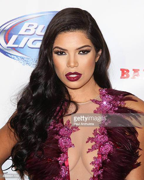 Playboy Playmate Suelyn Medeiros attends the 7th Annual Babes In Toyland charity toy drive benefiting Promises 2 Kids at Station Hollywood at W...