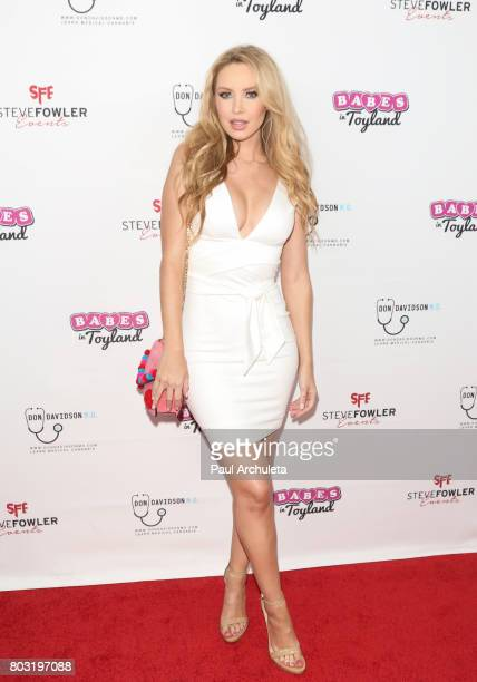Playboy Playmate Tiffany Toth attends the 2nd annual Babes In Toyland Support Our Troops charity event at Avalon on June 28 2017 in Hollywood...