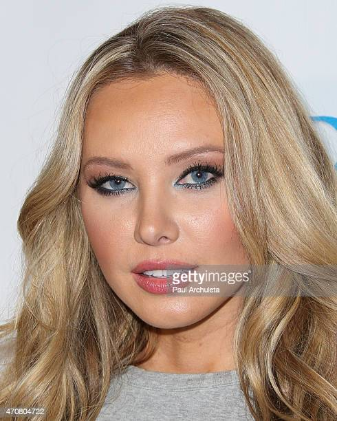 Playboy Playmate Tiffany Toth attends the Babes In Toyland charity toy drive at Boulevard3 on April 22 2015 in Hollywood California