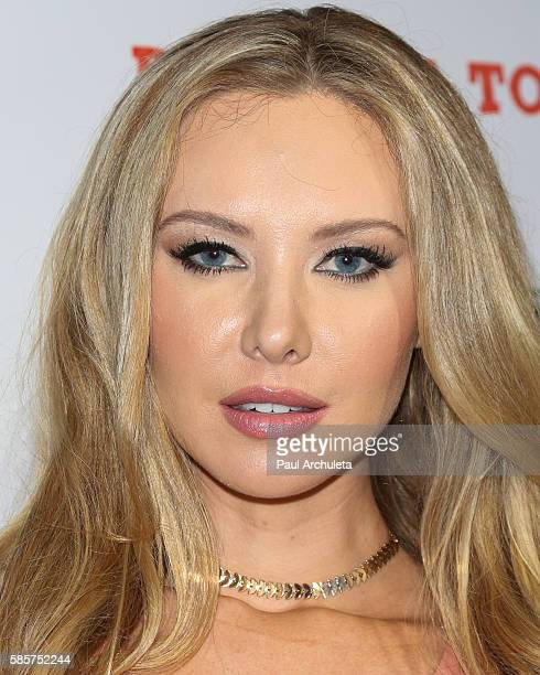 Playboy Playmate Tiffany Toth attends the Babes In Toyland Support Our Troops event at Le Jardin night club on August 3 2016 in Hollywood California
