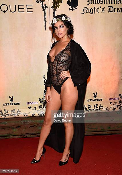 Playboy Playmate Val Keil attends the Playboy Midsummer Night's Dream party at the Marquee Nightclub at The Cosmopolitan of Las Vegas on August 27...