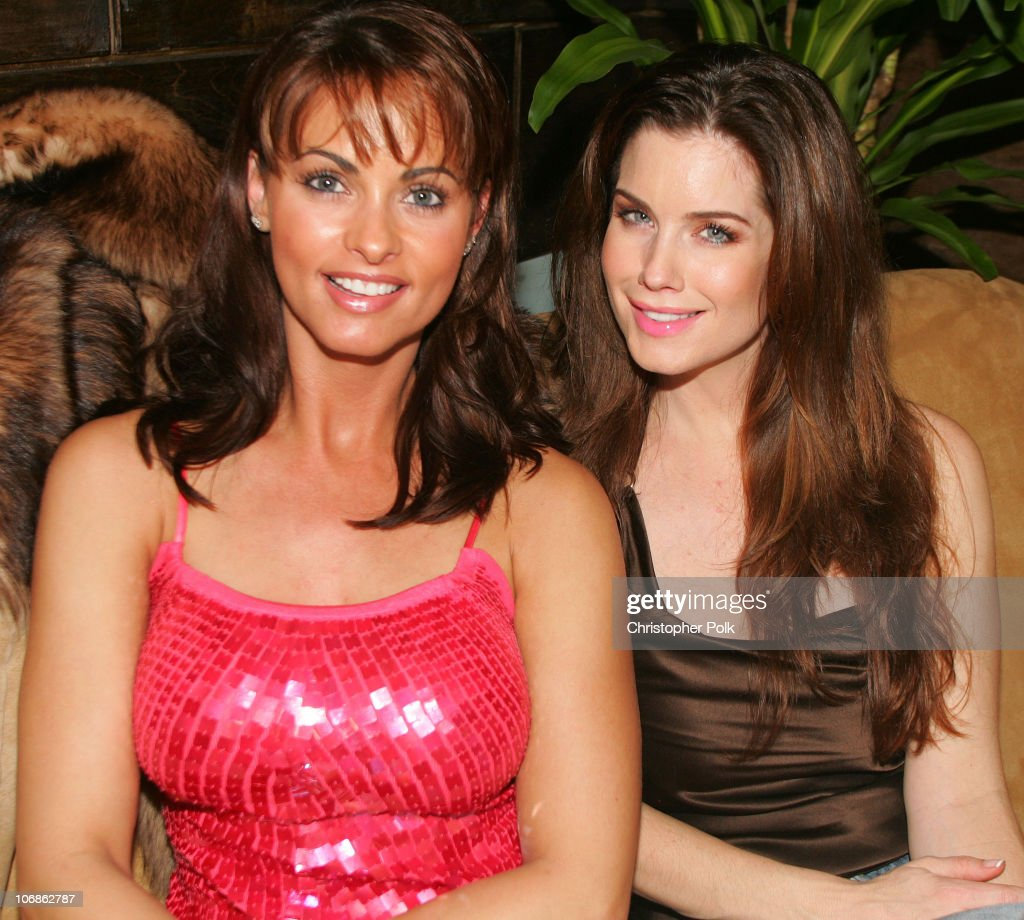 Playboy Playmates Karen Mcdougal And Carrie Stevens Exclusive News Photo - Getty Images-9445