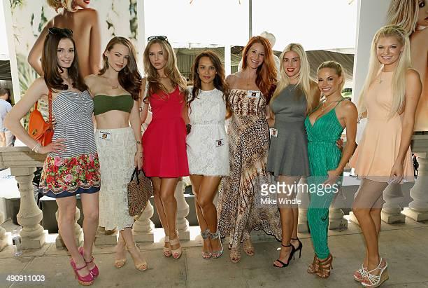 Playboy Playmates Kassie Lyn Logsdon Kimberly Phillips Tiffany Toth Raquel Gibson Jaime Edmondson Heather Rae Young Dani Mathers and Kristen Nicole...