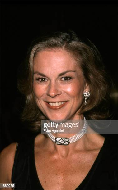 Playboy publisher Christie Hefner attends the Pen Literary Gala in New York City May12 1999