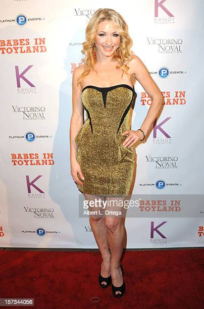 Playboy Radio Andrea Lowell arrives for the 5th Annual Babes In Toyland Charity Toy Drive to benefit Los Angeles County Sheriff's Department Toy...