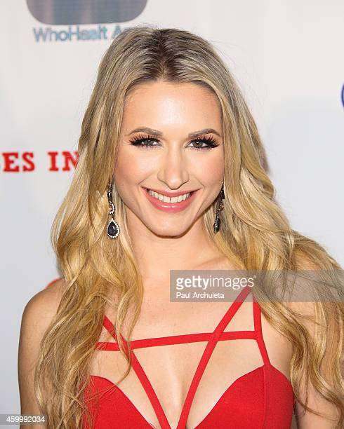 Playboy Radio / TV Personality Andrea Lowell attends the 7th Annual 'Babes In Toyland' charity toy drive benefiting 'Promises 2 Kids' at Station...