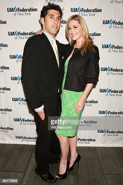 Playboy Radio's Kevin Klein and Andrea Lowell attend UJAFederation of New York event to honor Bob Meyers for exemplary philanthropic efforts at...