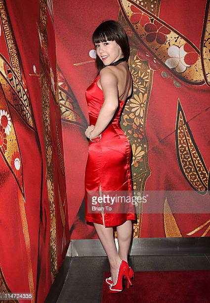 Playboy's 2011 Playmate of the Year Claire Sinclair celebrates her 20th birthday at sbe's Katsuya Hollywood on May 25 2011 in Los Angeles California