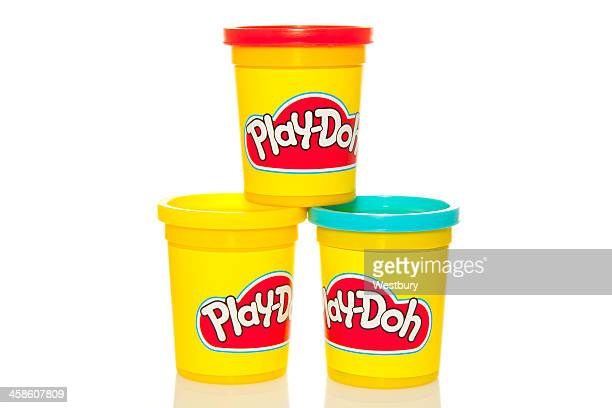 play-doh - clay stock pictures, royalty-free photos & images