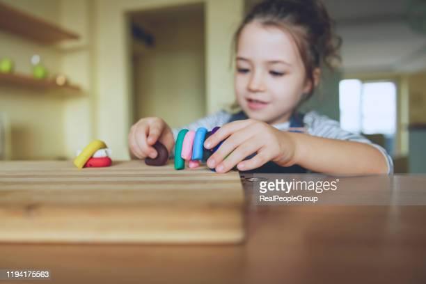 プレイドゥーゲーム - 粘土 ストックフォトと画像
