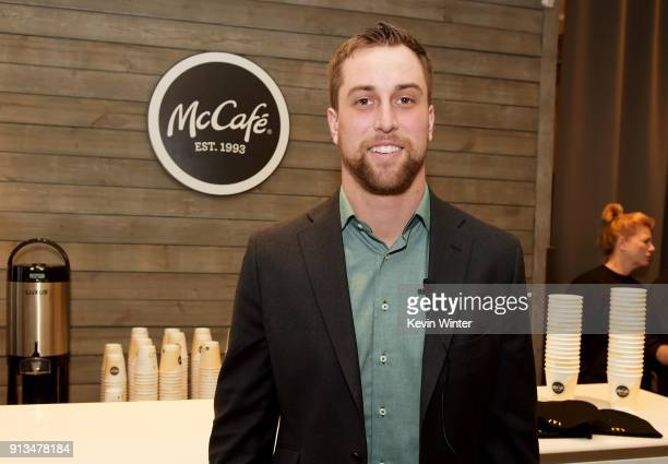 NFL player Adam Thielen attends the Annual Bootsy Bellows Big Game Experience with McDonalds on February 2 2018 in Minneapolis Minnesota