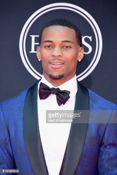 NFL player AJ Bouye attends The 2017 ESPYS at Microsoft Theater on July 12 2017 in Los Angeles California