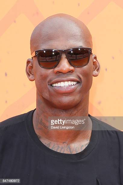 NBA player Al Harrington arrives at the Nickelodeon Kids' Choice Sports Awards 2016 at the UCLA's Pauley Pavilion on July 14 2016 in Westwood...